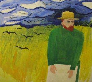 Van Gogh in het Veld 1998 Cris van Voorst